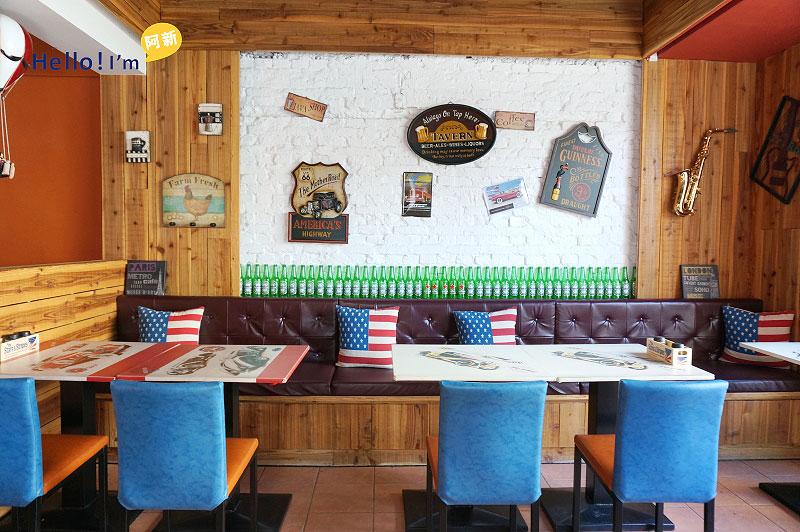 勤美誠品綠園道,美式餐廳,Hot Shock哈燒庫美式餐廳-5