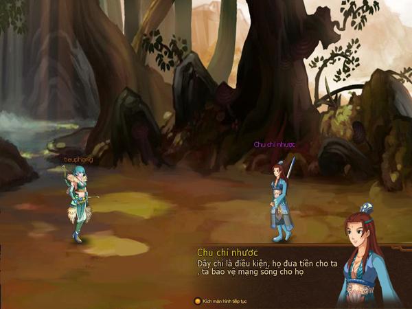 Tiếu Ngạo Giang Hồ của Soha Game là game mobile 7