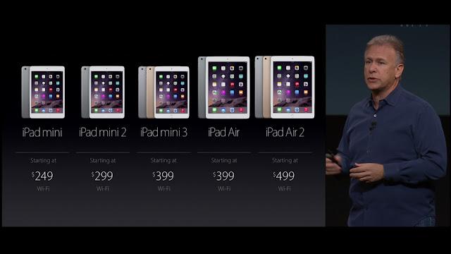 新型iPadシリーズ・ラインナップ