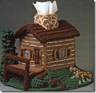 Crochet small house