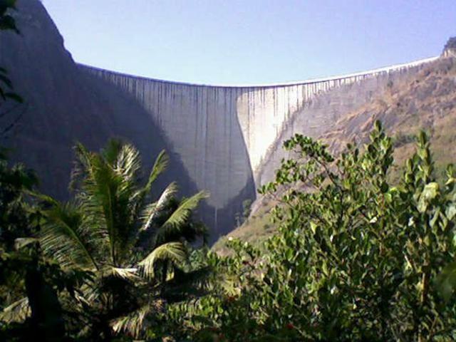 The Idukki dam in Kerala, India. Photo: Oneindia News