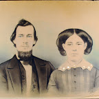 John Robert (Robertson) Gleaves (1826 - 1901) and his first wife, Adeline Jackson (1827 - abt. 1854) 19
