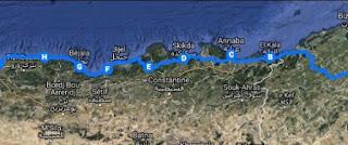 Rouler utile: Deux Tunisiens et un Algérien vont faire Tunis-Alger à vélo