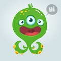 Funny Cartoon Monster Free Download Vector CDR, AI, EPS and PNG Formats