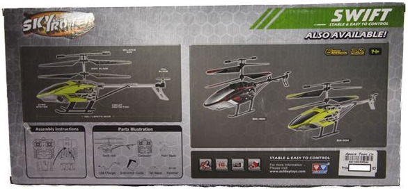 Đồ chơi Trực thăng điều khiển từ xa Swift Sky Rover YW857127