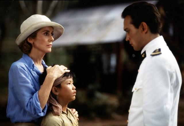 Catherine Deneuve and Vincent Perez in Indochine (1992)