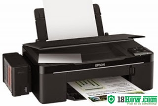 How to reset flashing lights for Epson T33 printer