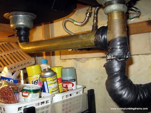 Install Kitchen Drain