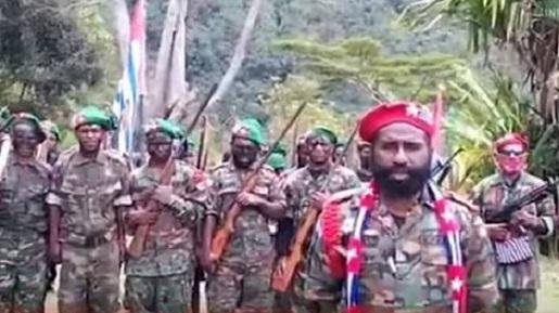 Kolonelnya Tewas, Panglima Ngalum Kupel, 'Brigjen' Lamek A Taplo Menantang Perang