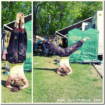 the boho hobos april 2016 yogaeverydamnday challenge