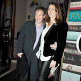 WWW.ENTSIMAGES.COM -  Tom and Claudia Bradby  arriving at  Costa Book of The Year Award 2012 at Quaglino's Bury Street London January 29th 2013                                                         Photo Mobis Photos/OIC 0203 174 1069
