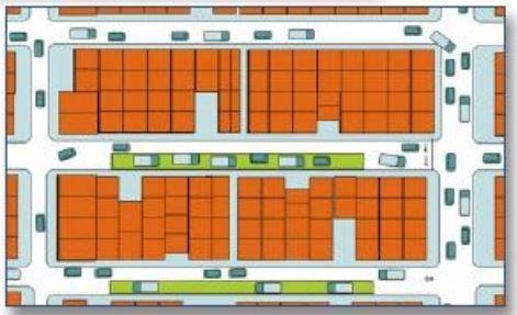 Hệ thống một chiều mở rộng không gian trút tải