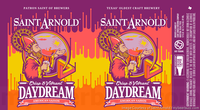 Saint Arnold Adding Daydream American Saison Cans