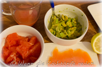 Mille-feuille Avocado, Lachs und Grapefruit.JPG
