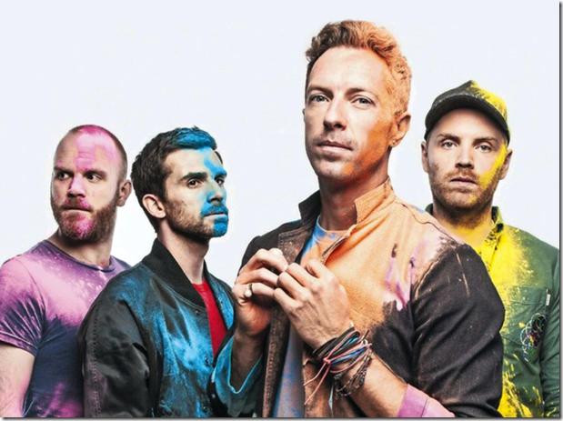 Recitales Coldplay Argentina 2017