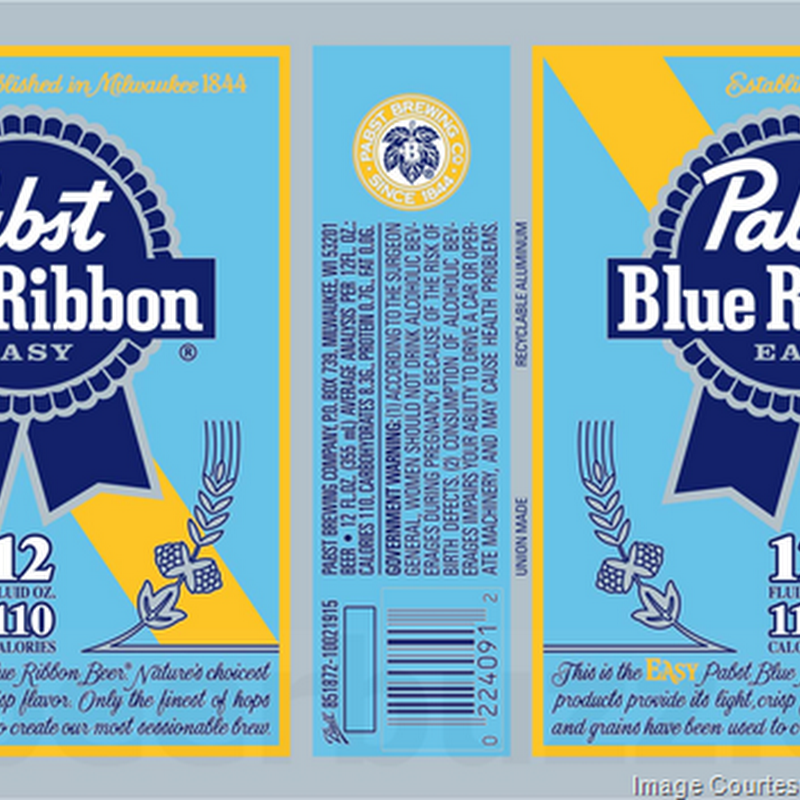 Pabst Adding New Pabst Blue Ribbon Easy