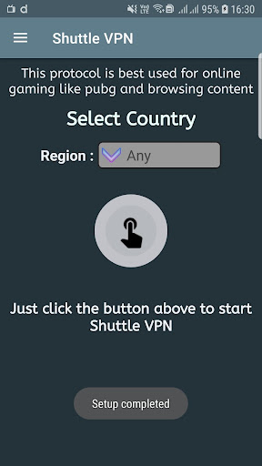 Shuttle VPN 1.9.34 screenshots 1