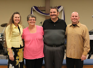 Susan and Charles with Pastors Phil and Sherie Wilson of Victory Assembly in Portland, TN.