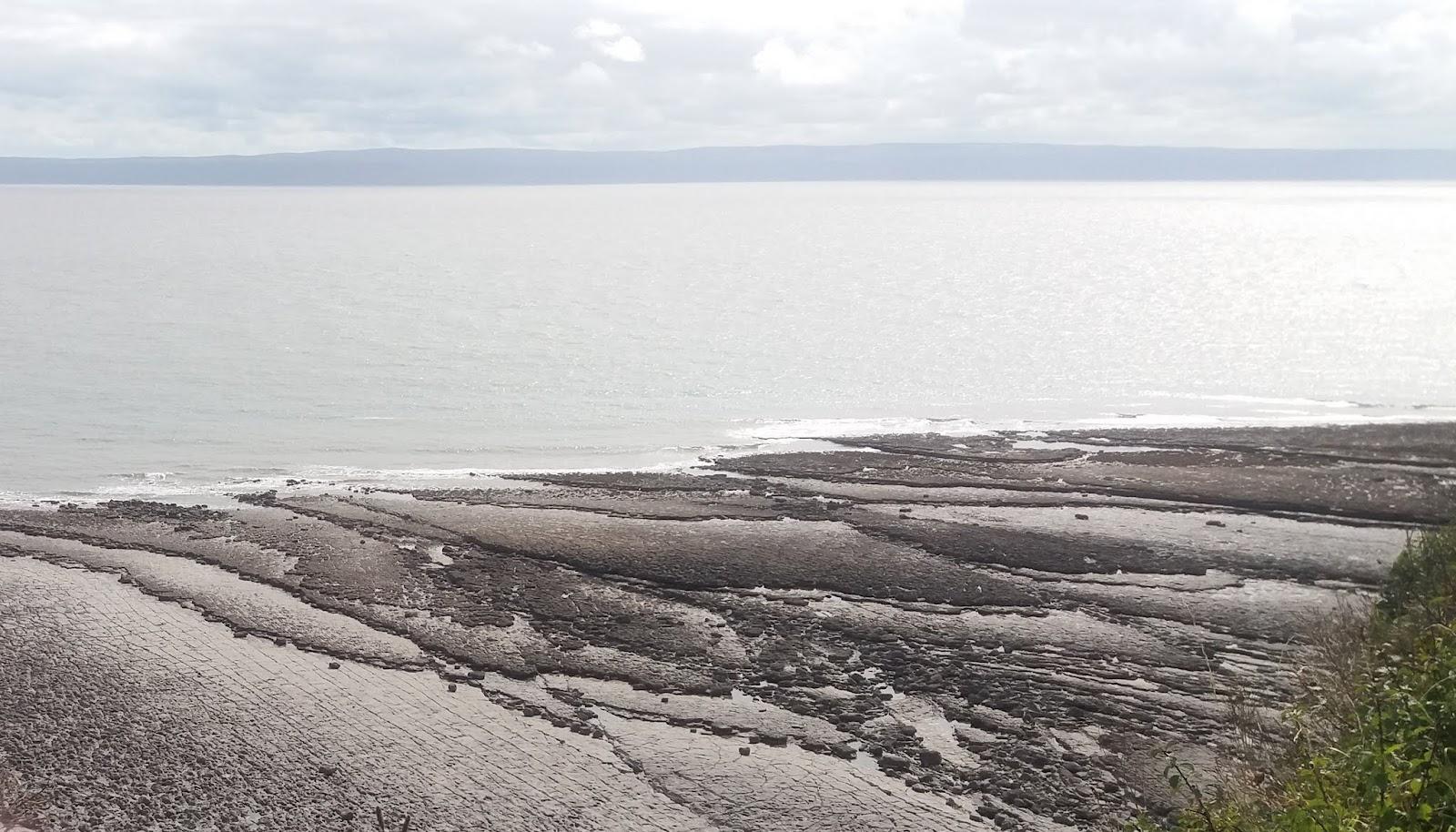 20170824 145539 Rock patterns on St Donat's bay beach