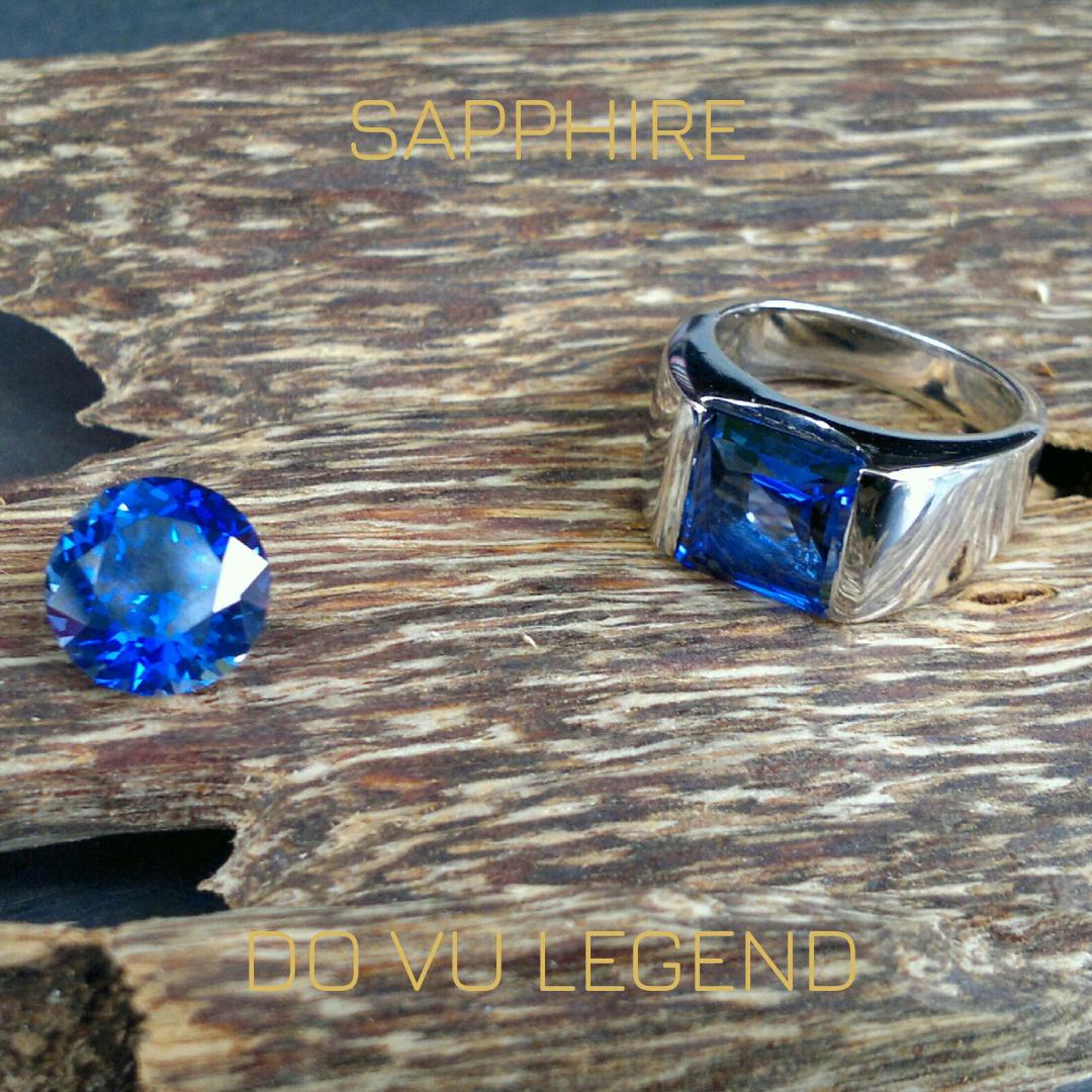 Nhẫn Sapphire nam