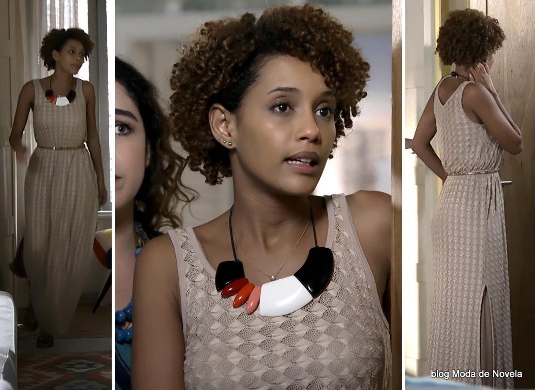 moda da novela Geração Brasil - look da Verônica dia 27 de maio