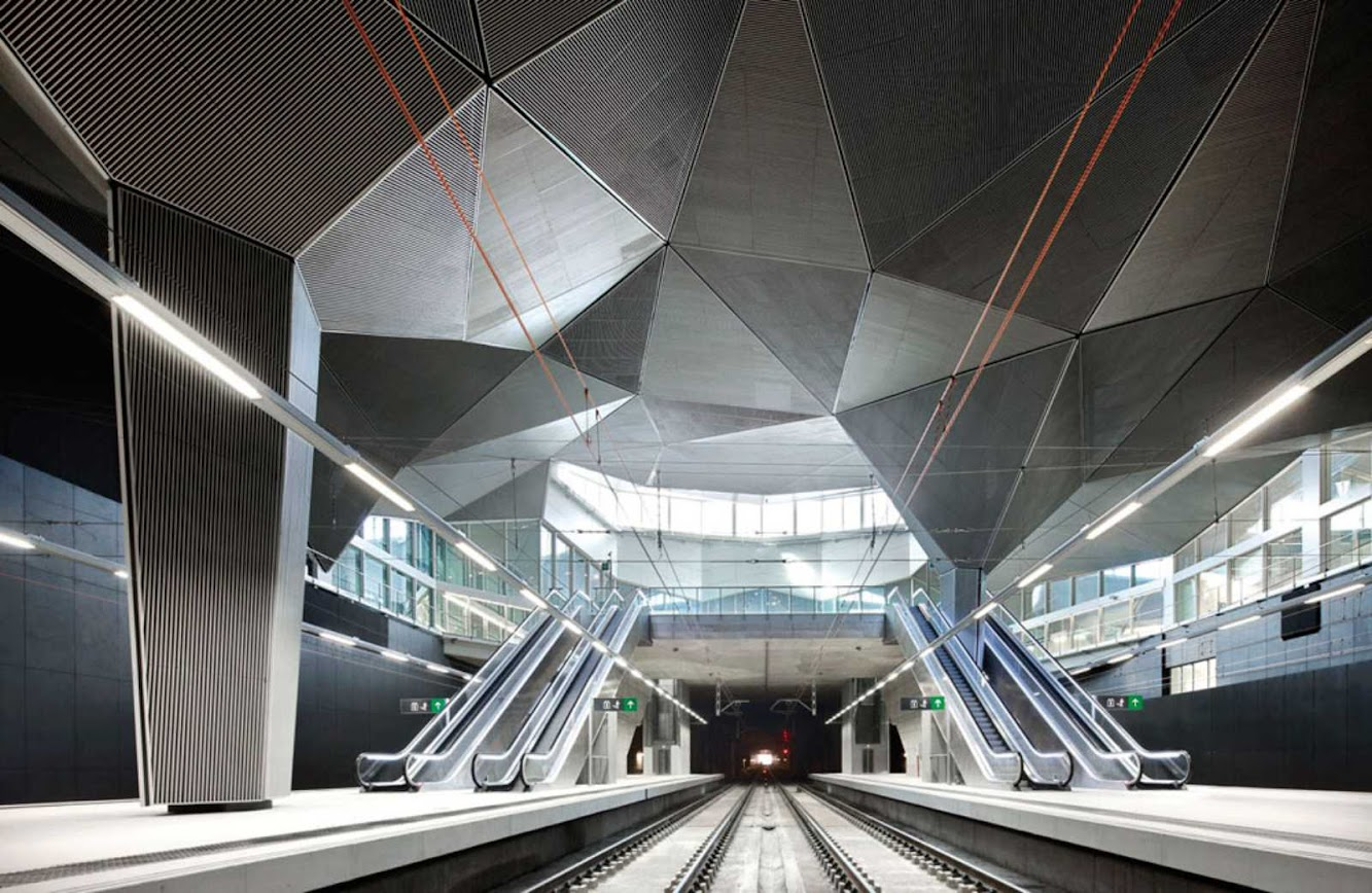 Logroño, La Rioja, Spagna: High Speed Train Station in LogroÑO by ÁBalos + Sentkiewicz