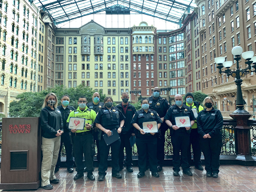 Boyd Gaming security officers receive praise and awards for saving lives