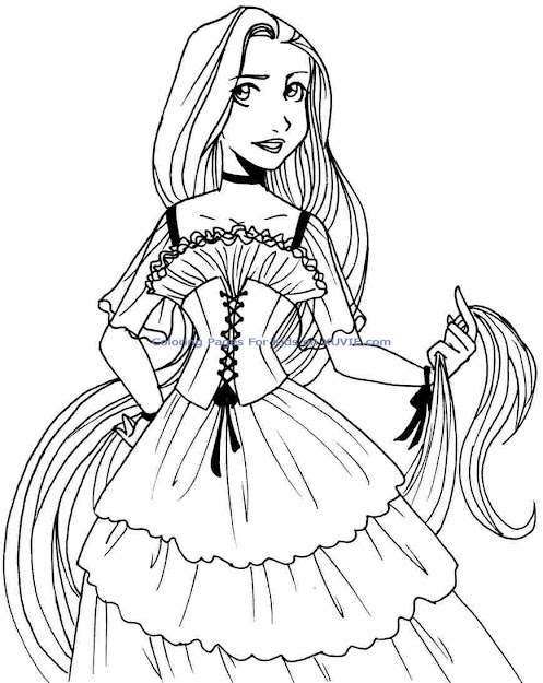 Baby Princess Coloring Pages Baby Disney Princess Printable Coloring  Pages  Coloring Page
