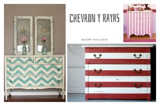 14 maneras diferentes de pintar una c moda la c moda - Transformar muebles antiguos en modernos ...
