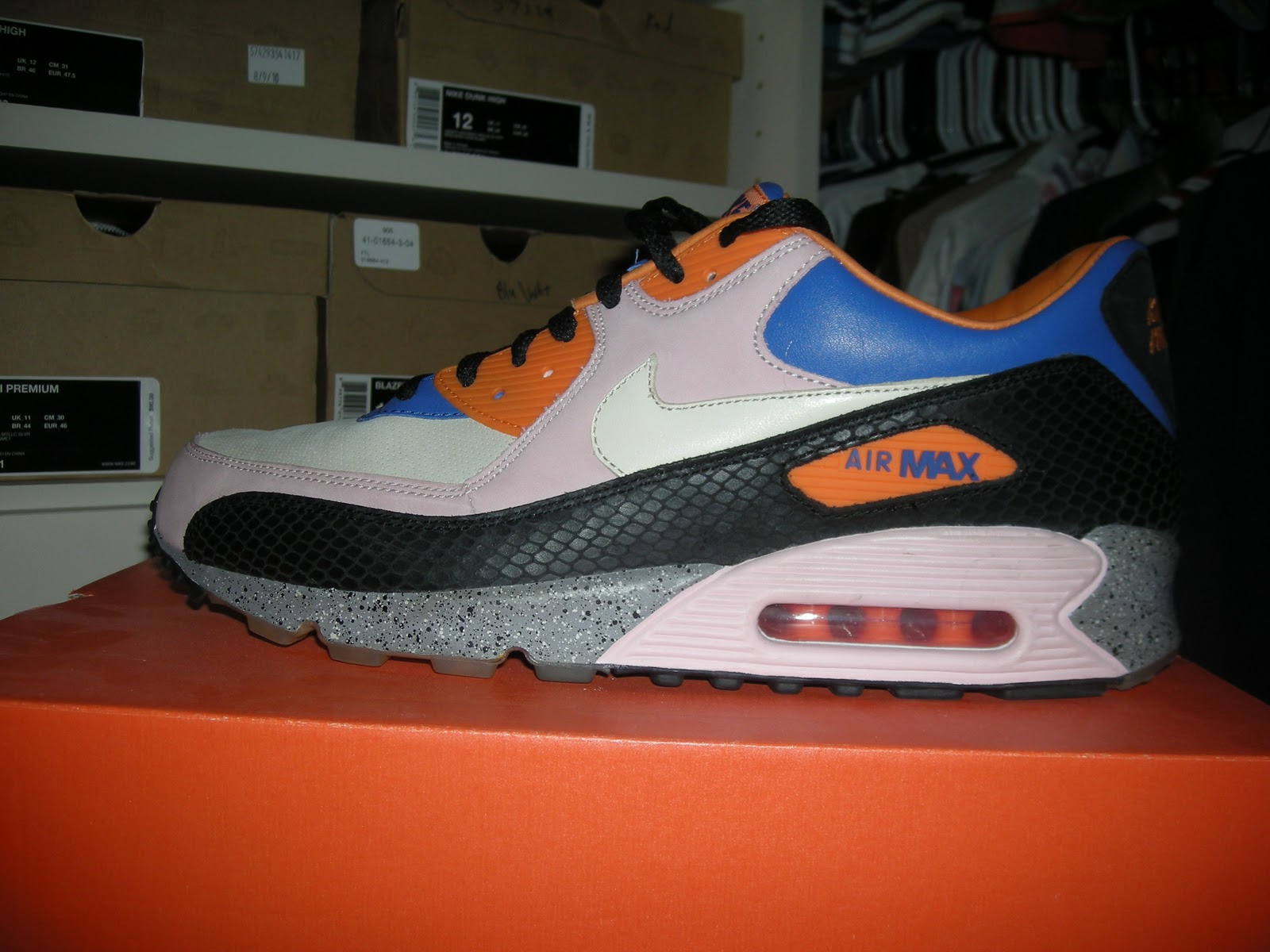 Nike Air Max 90 Mowabb King of the Mountain Champagne Cream Spor