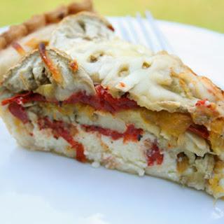 Tomato and Eggplant Pie.