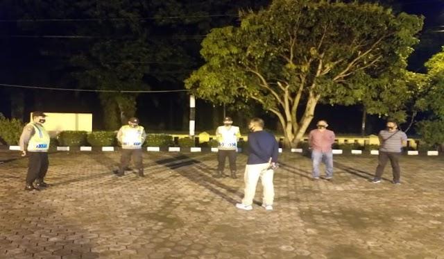 Tahan Laju Penyebaran Covid 19, Polsek Padang Hulu Gencar Himbau Displin Prokes