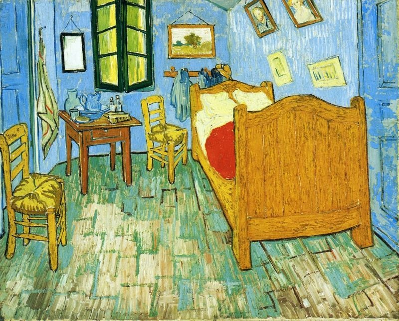 van gogh bedroom 6 The  A Night in Van Gogh s Bedroom    ALK3R. The Bedroom Van Gogh Painting. Home Design Ideas