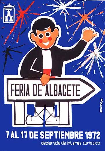 Cartel Feria Albacete 1972