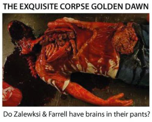 The Exquisite Corpse Golden Dawn