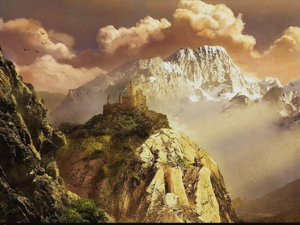 Castle In Rocks, Magical Landscapes 1
