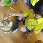 Pig Face Mask Activity (Playgroup) 22-8-14
