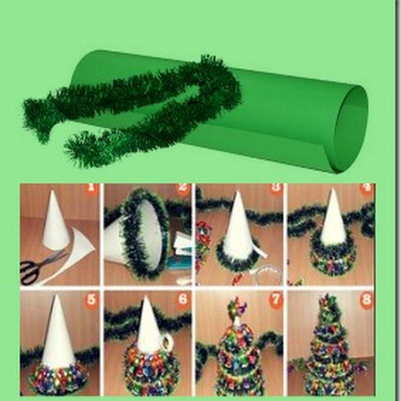 Manualidades arbol de navidad muy fácil