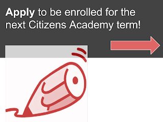 Apply to Citizens Academy
