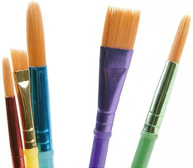 Sản phẩm Crayola Paint Brushes gồm 5 cây bút vẽ màu nước