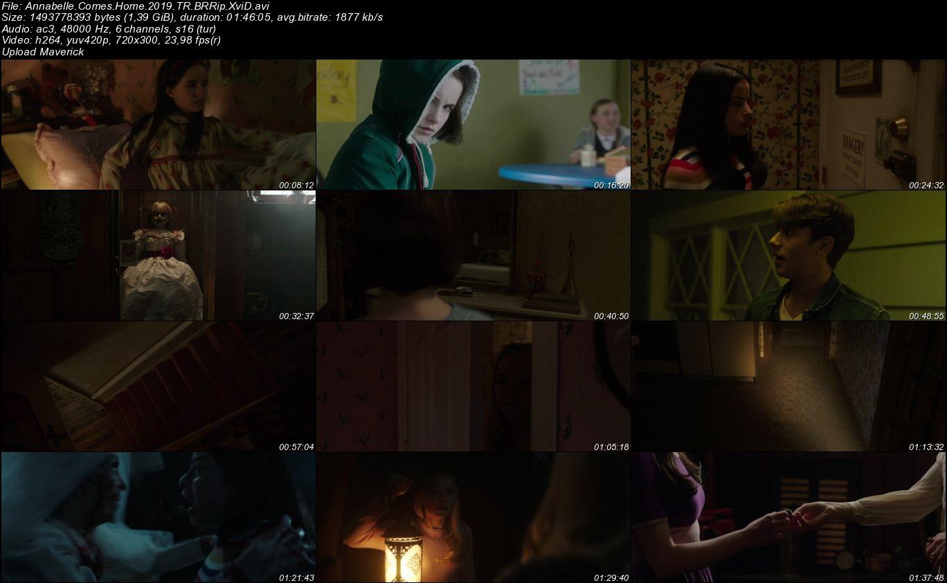 Annabelle 3 - 2019 Türkçe Dublaj BRRip indir