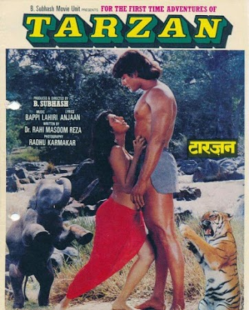 Poster Of Hindi Movie Adventures of Tarzan 1985 Full HD Movie Free Download 720P Watch Online