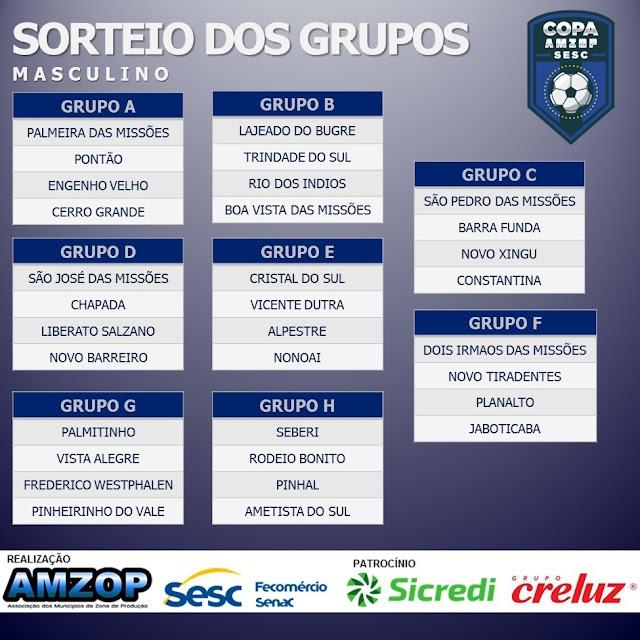 Copa AMZOP de futsal começa no próximo dia 15