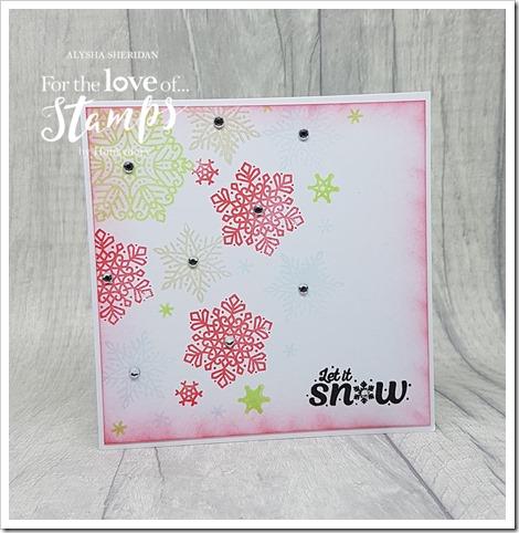 Sparkling Snowflakes 2