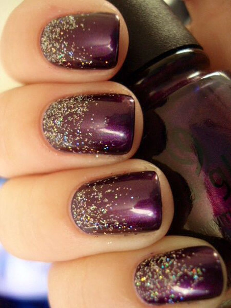 60 Fresh Ideas To Make Glitter Acrylic Nails For This