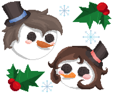 ℒℊ ~ Snowwoman [Winter Couple] Minecraft Skin