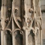 Eglise Saint-Justin : portail occidental (détail)