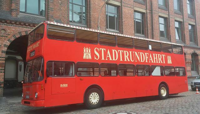 Hamburg Stadtrundfahrt Bus