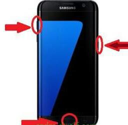 طريقة فرمتة هاتف سامسونج جالكسي Galaxy S7, Samsung Galaxy S7 edge