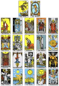 Büyük Arkana Tarot Kartları